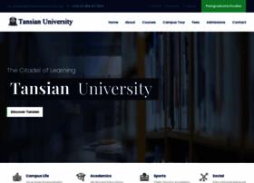 Tansianuniversity.edu.ng thumbnail