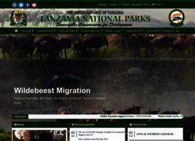 Tanzaniaparks.go.tz thumbnail