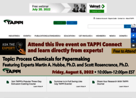 Tappi.org thumbnail