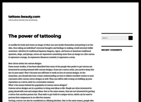 Tattoos-beauty.com thumbnail