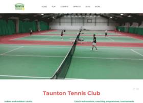 Tauntontennisclub.co.uk thumbnail