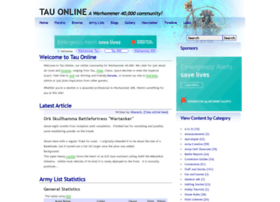 Tauonline.org thumbnail