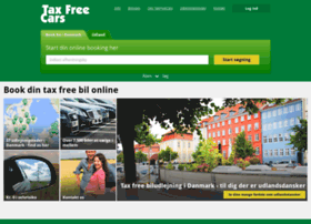 Taxfreecars.dk thumbnail