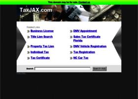 Taxjax.com thumbnail