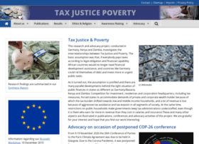Taxjustice-and-poverty.org thumbnail