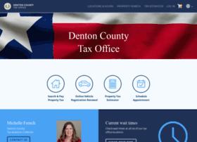Taxweb.dentoncounty.com thumbnail