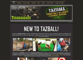 Tazballpaintball.co.uk thumbnail