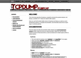 Tcpdump.org thumbnail