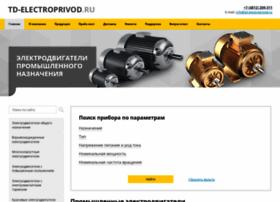 Td-electroprivod.ru thumbnail