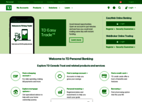 TD Canada Trust Small Business EasyWeb Internet Banking - oukas info