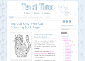 Teaatthree.co.uk thumbnail