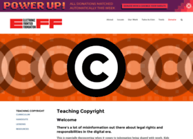 Teachingcopyright.org thumbnail
