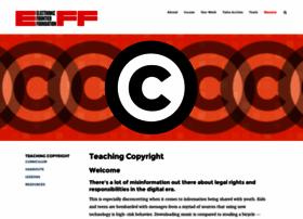 Teachingcopyright.org thumbnail