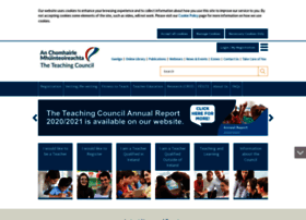 Teachingcouncil.ie thumbnail