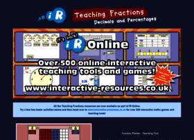 Teachingfractions.co.uk thumbnail