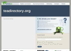 Teadirectory.org thumbnail