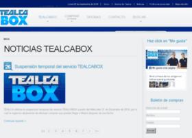 Tealcabox.com.ve thumbnail