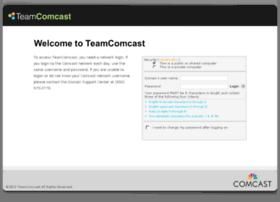 Teamcomcast.com thumbnail