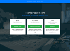Teamdirection.com thumbnail