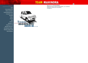 Teammahindra.com thumbnail