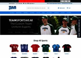 Teamsportswear.com thumbnail