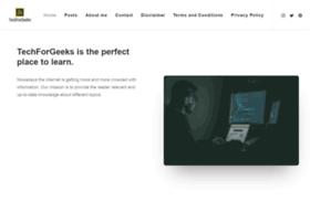 Techforgeeks.com thumbnail