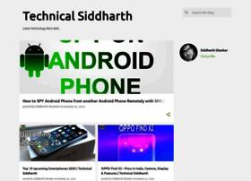 Technicalsiddharth.in thumbnail