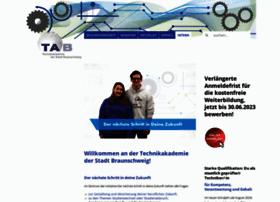 Technikakademie-bs.de thumbnail