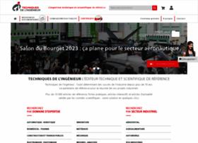Techniques-ingenieur.fr thumbnail