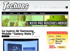 Technos.com.ve thumbnail