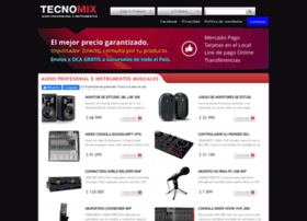 Tecnomixaudio.com.ar thumbnail