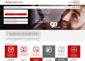 Tecomdirectory.com thumbnail