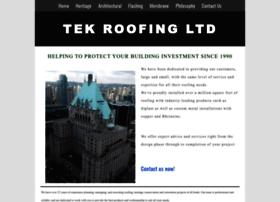 Tekroofing.ca thumbnail