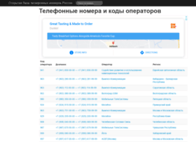 Tel-names.ru thumbnail