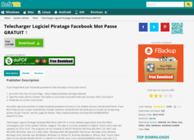 LOGICIEL SOFT112 MOT GRATUIT TÉLÉCHARGER FACEBOOK PIRATAGE PASSE