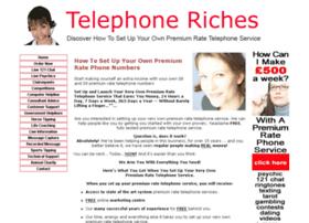 Telephoneriches.co.uk thumbnail