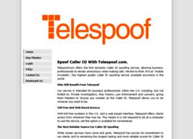 Telespoof.com thumbnail
