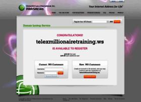 Telexmillionairetraining.ws thumbnail