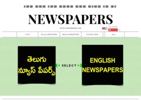 Telugunewspapers.net thumbnail