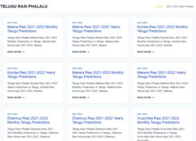 Telugurasiphalalu.com thumbnail