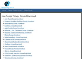 Telugusongs.net.in thumbnail