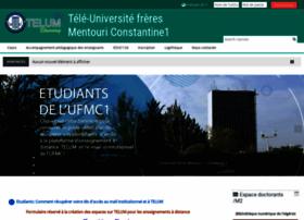 Telum.umc.edu.dz thumbnail