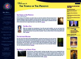 Templeofthepresence.org thumbnail