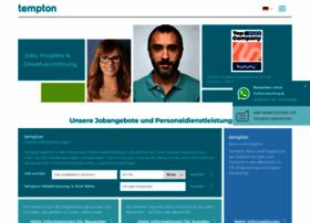 Tempton.de thumbnail