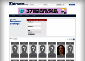 Tennessee.arrests.org thumbnail