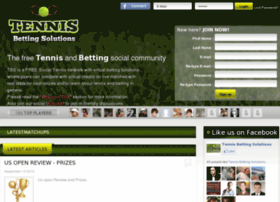 Tennisbettingsolutions.com thumbnail