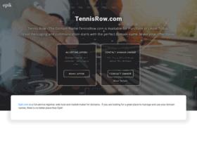 Tennisrow.com thumbnail