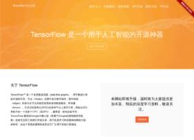 Tensorfly.cn thumbnail