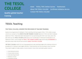 Tesolcollege.uk thumbnail