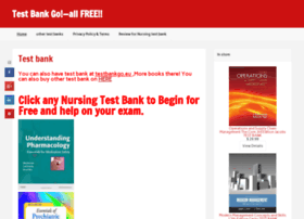 Testbankgo.info thumbnail